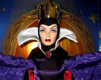 Vintage Disney Evil Queen Limited Edition Doll by Mattel #18626 Snow White