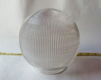 Vintage Textured Globe Light Cover