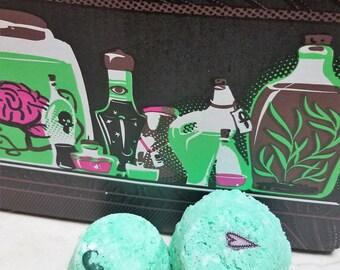 Chemistry Made Scientist Bath Bomb Mini's: 6 Pack