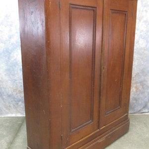 Walnut Armoire Wardrobe Storage Closet Cabinet Bedroom Clothes Organizer A, Vintage  Wardrobe, Clothes Closet