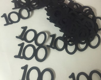100th Birthday Party Decorations Table Confetti