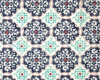 Lagrange Nautical, Magnolia Home Fashions - Cotton Upholstery Fabric By The Yard