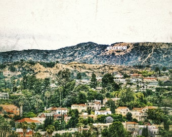 Hollywood Sign Photo Print