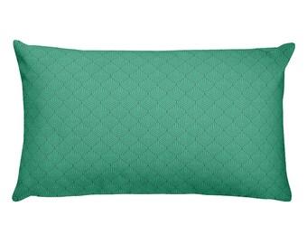 ArtDeco print decorative pillow | Geometric print pillow