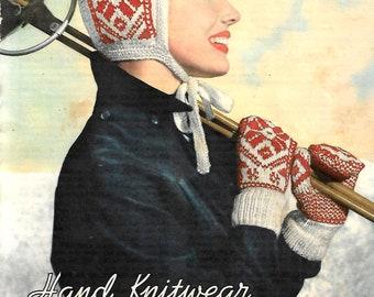 LAVENDA Original Vintage Ladies Knitting Pattern