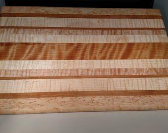 Figured Wood Cutting Board