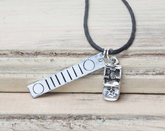 Jeep Grill Bar Necklace - Jeep - Jeep Jewelry - Hand Stamped - Handmade Jewelry - Bar Necklace