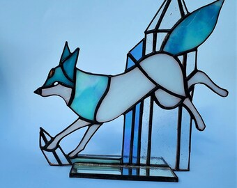 Handmade arctic fox spirit | Etsy