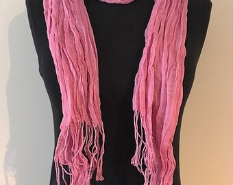 Scarf viscose 180X60cm about (several colors available)