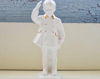 Sale John F Kennedy Jr. Ceramic Figurine Atlantic Mold Co John John Saluting His Father JFK
