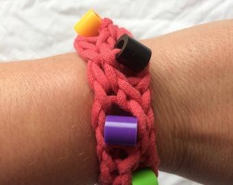 Red Sensory Fidget Bracelet