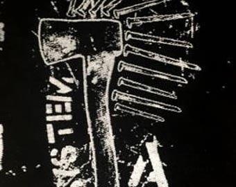 System A...axe nailed
