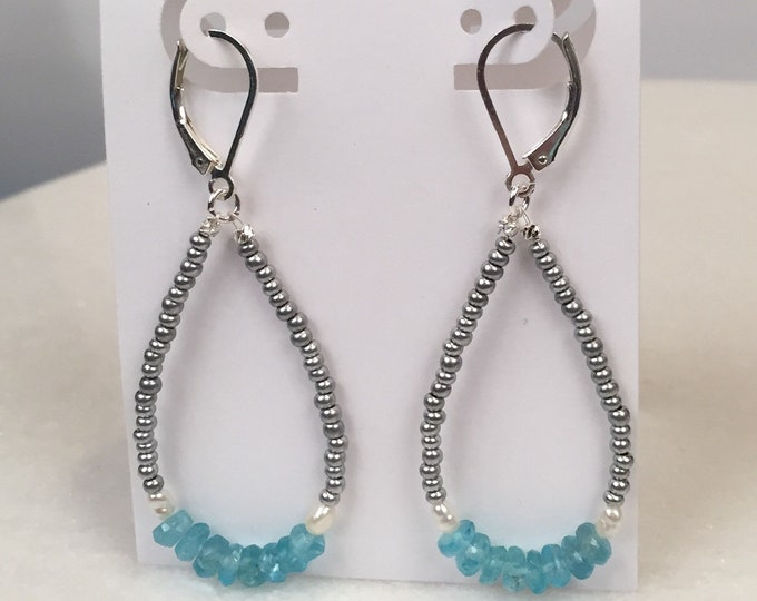 Island Hopper hoop earrings
