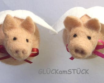 Lucky Pig, big, with wings