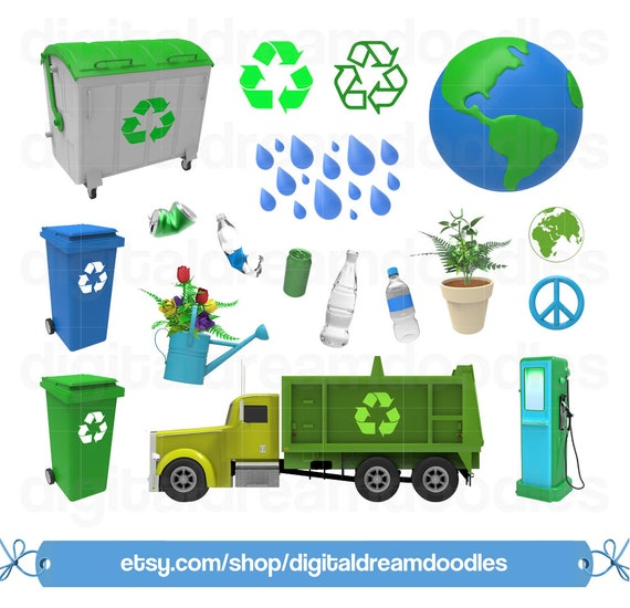 Recycle Clipart, Earth Day Clipart, Recycling Clip Art ...