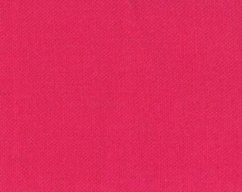 HALF YARD Bella Solids - 9900-223 SHOCKING Pink from Bella Solids from Moda Fabrics