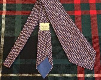 Vintage 1930s/40s Imported Silk Necktie with Ecco-Loop 1016