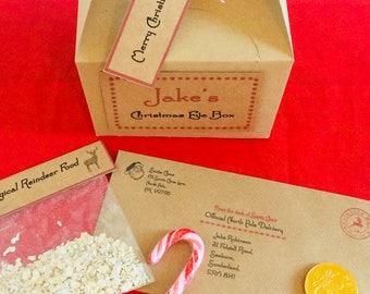 Personalised Christmas Eve Bix, Santa Letter, Magic Key, Reindeer Food, Treats