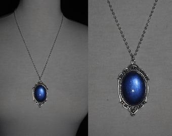 Necklace [Blue Medallion]