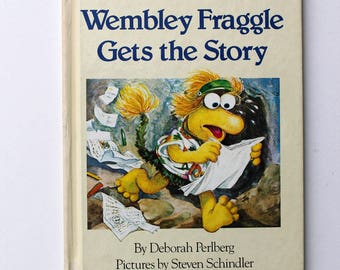 Fraggle Rock Wembley Fraggle Gets the Story 1984