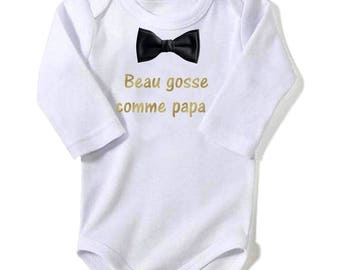 Handsome like Daddy baby Bodysuit