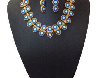 Necklace earring set - original paper set