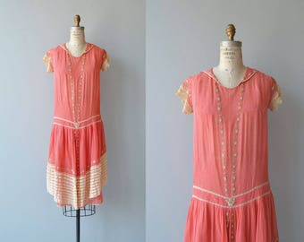 Cadeau de Fille dress | vintage 1920s dress | cotton 20s dress