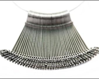 Schreibmaschine Schlüssel Halskette