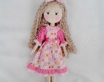 En tissu 15'' poupée chiffon Doll poupée Textile
