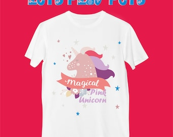 "T-Shirt ""Magical Pink Unicorn"""