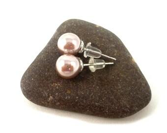 Pearl Stud Earrings