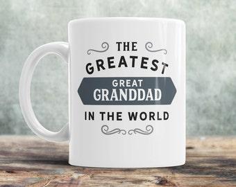 Greatest Great Granddad, Great Granddad Mug, Birthday Gift For Great Granddad! Great Granddad Gift. Great Granddad, Great Granddad Present