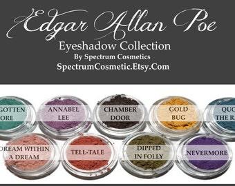 Edgar Allan Poe Fall Halloween Eyeshadow Collection
