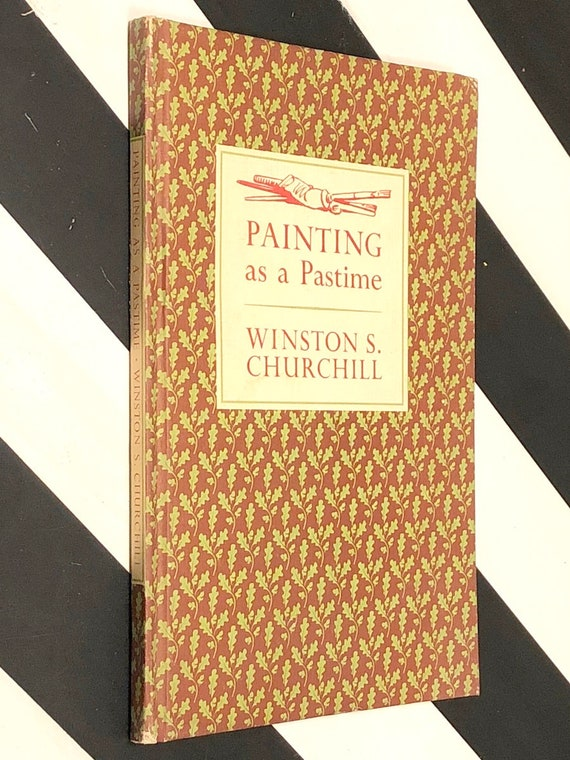 Painting as a Pastime by Winston Churchill (1965) hardcover book