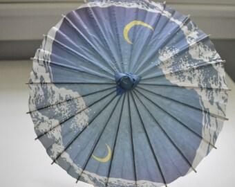 Child  Paper Umbrella, Child Paper Parasols,kids umbrella, japanese paper umbrella
