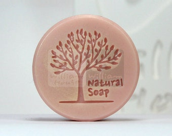 Tree stamp - Handmade Silicone Soap Mold Candle Mould Diy Craft Molds