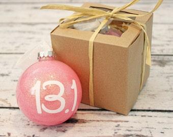 Gift for Runners, Running Ornament, Runner Christmas Gift. Half Marathon, Marathon,