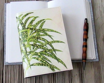 vintage botanical journal, diary notebook planner gift giving for under 25