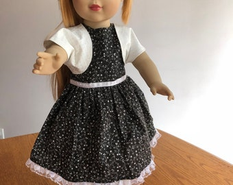 Summer Doll Dress with Shrug