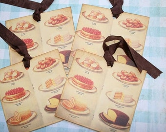 Sweet Desserts Gift Hang Tags