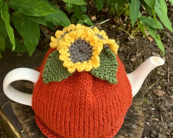Sunflower Tea Cosy, Summer Flower Tea Cozy