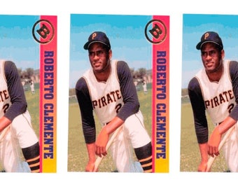 5 - 1993 Ballstreet Roberto Clemente Baseball Card Lot Pittsburgh Pirates