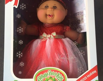 Cabbage Patch Doll _ Red Dress_ NEW