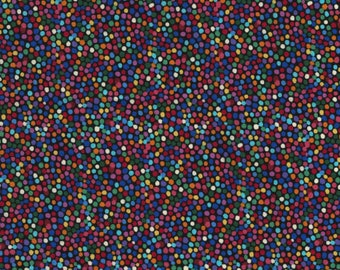 Radiance, Polka dot fabric, multi colored dot fabric, by Timeless Treasures, C5132