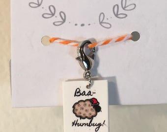 Baa-Humbug Holiday Progress Keeper