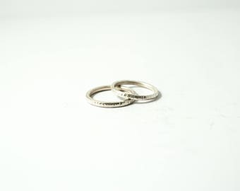 "Wedding ring ""Structure"" Lady ring"