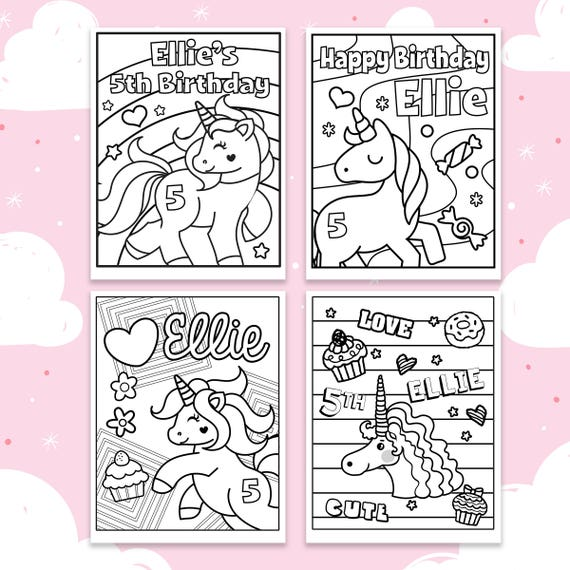Unicorn Coloring Sheets Unicorn Custom Coloring Pages