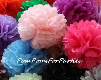 15 (5L / 5M/5S) papel de seda pompones - boda - cumpleaños - bautizo - cumpleaños temáticos - nupcial - vivero decoraciones - bautismo