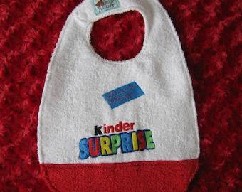 Kinder Surprise bib