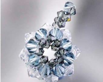 Star pendant Jewelry Making Beading Tutorial H2